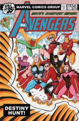 Avengers Custom Cover