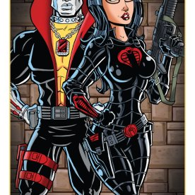 Destro and The Baroness