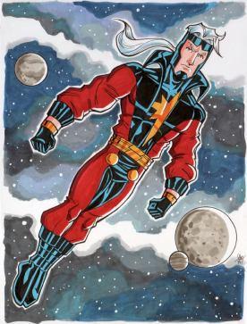 Genis Vell Captain Marvel
