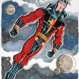 Genis Vell Captain Marvel