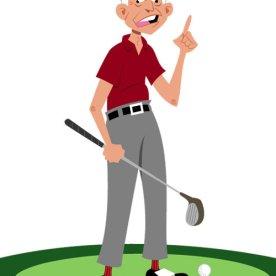 Oldman Golfer
