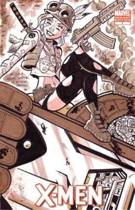 Tank Girl Sketch Cover