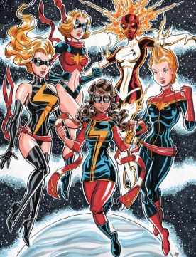 Many Ms. Marvels