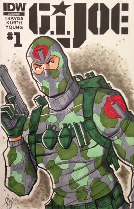 Firefly Cobra GI Joe Sketch Cover