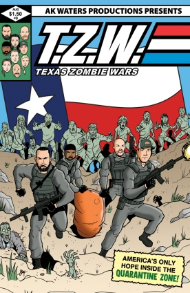 Texas Zombie Wars #0 Cover